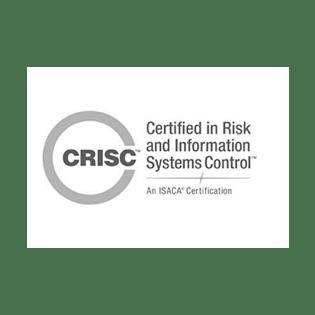 CRISC certification logo