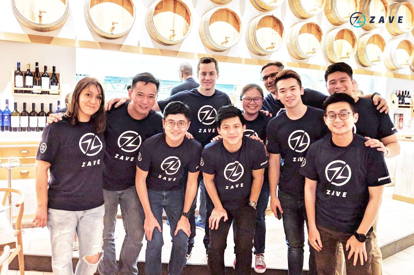 Zave employees group photo