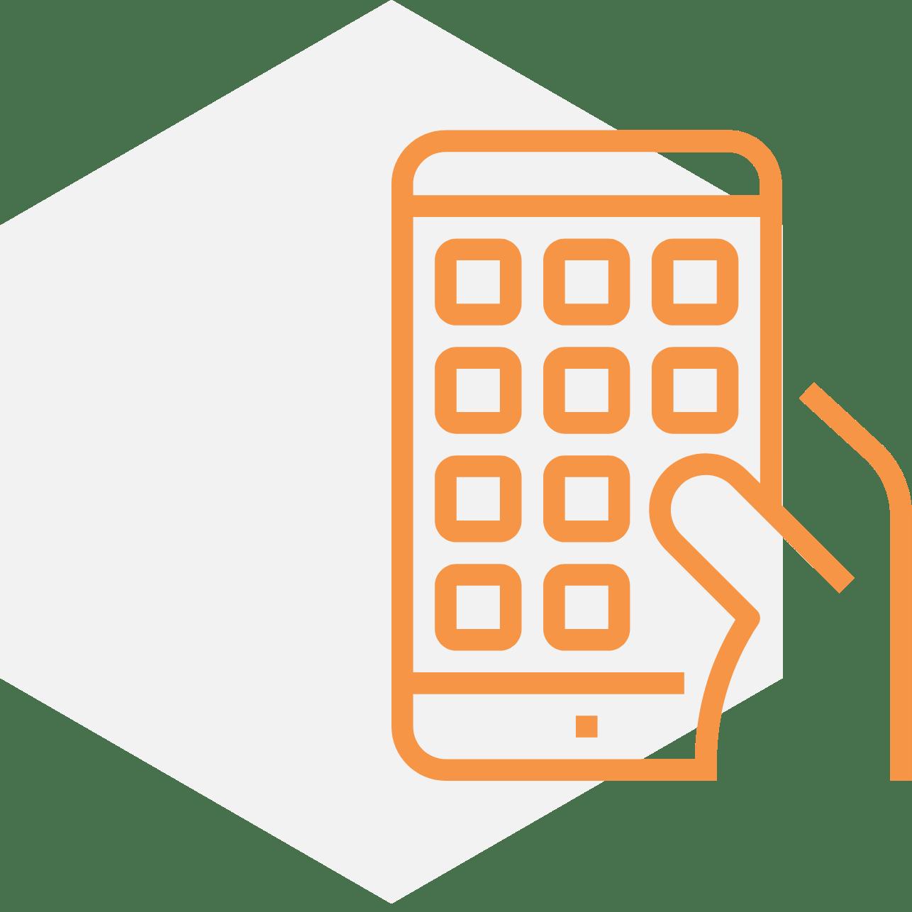 mobile app testing icon