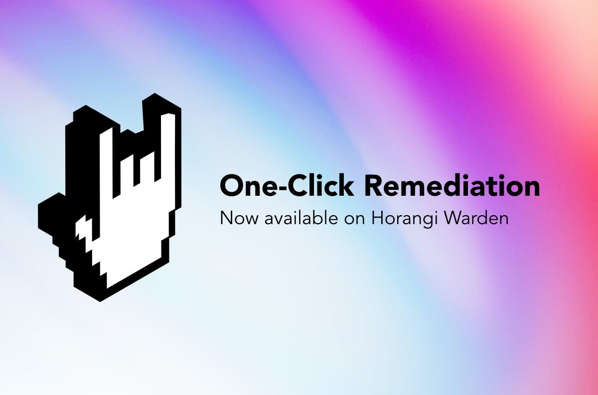 one click remediation visual
