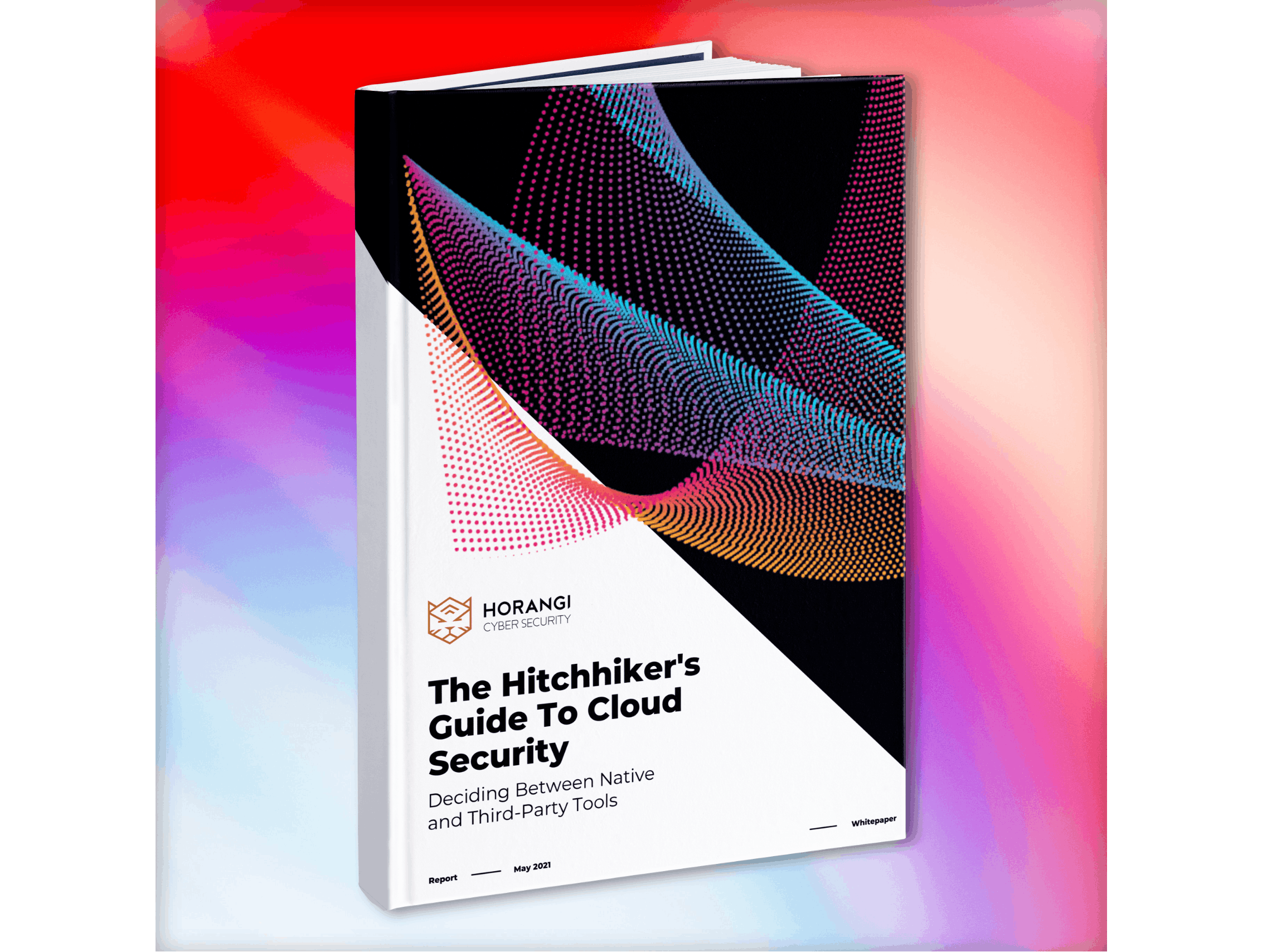 book mockup visual cloud security