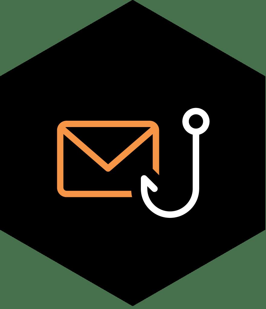 Spear phishing icon