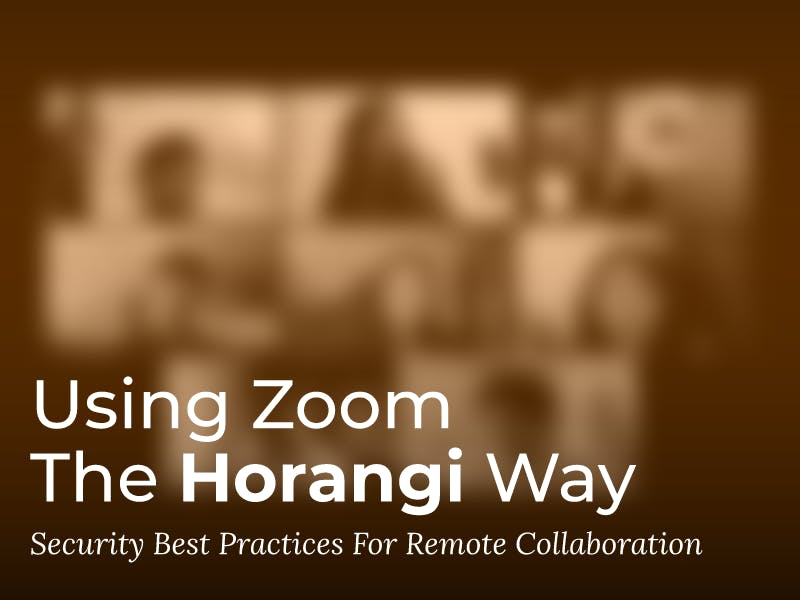 Best practices for using zoom