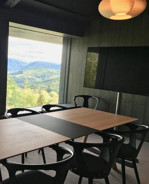 La salle de réunion