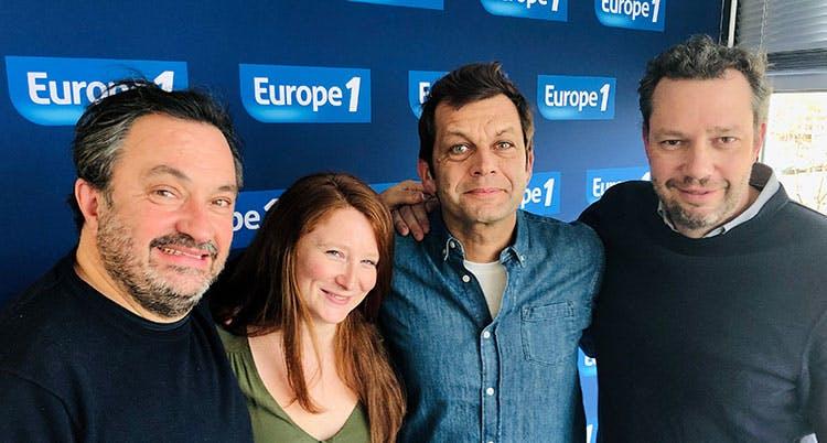 Europe 1 - Laurent Mariotte - Yves Camdeborde