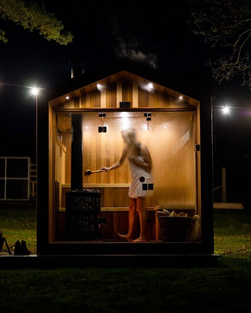 Sauna relaxation