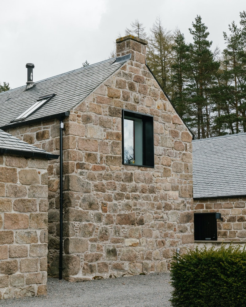 The Hay Loft's window detail