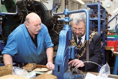 Lord Mayor, Birmingham, Jewellery Quarter, Hockley Mint, Lady Mayoress, Toye