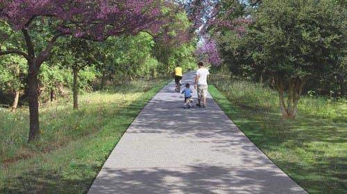 The offstreet trail design