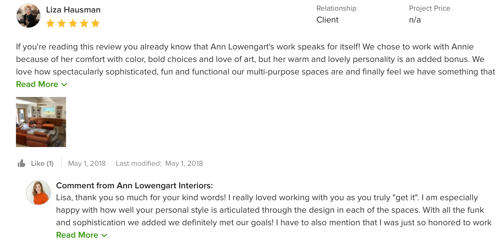 Reviews on Houzz
