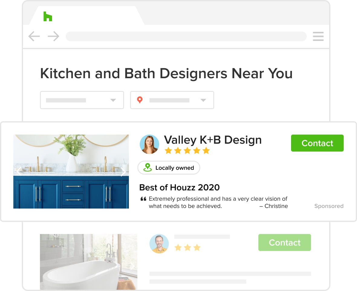 stand out on Houzz with Houzz Pro