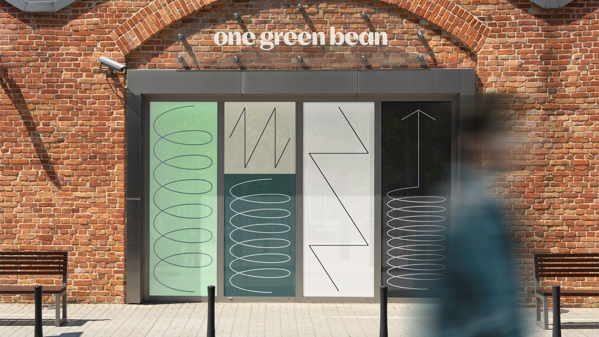 One Green Bean Shop Front