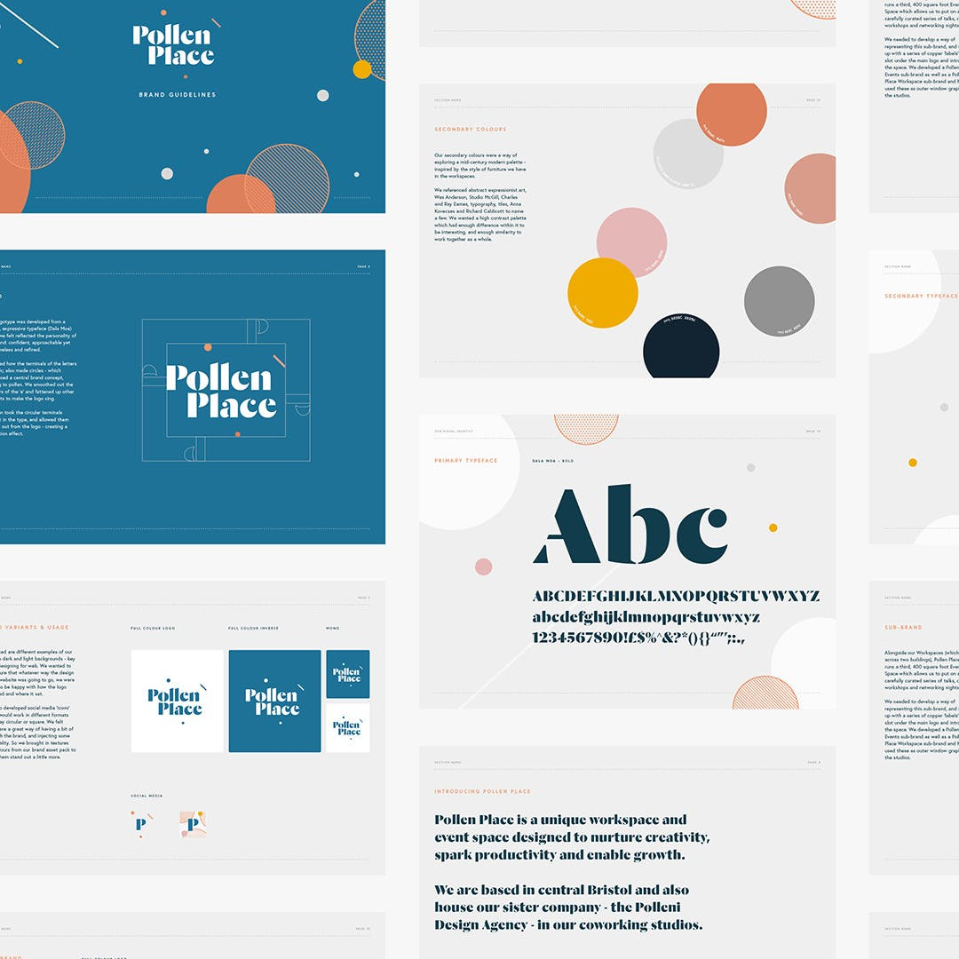 Pollen Place Brand Guidelines