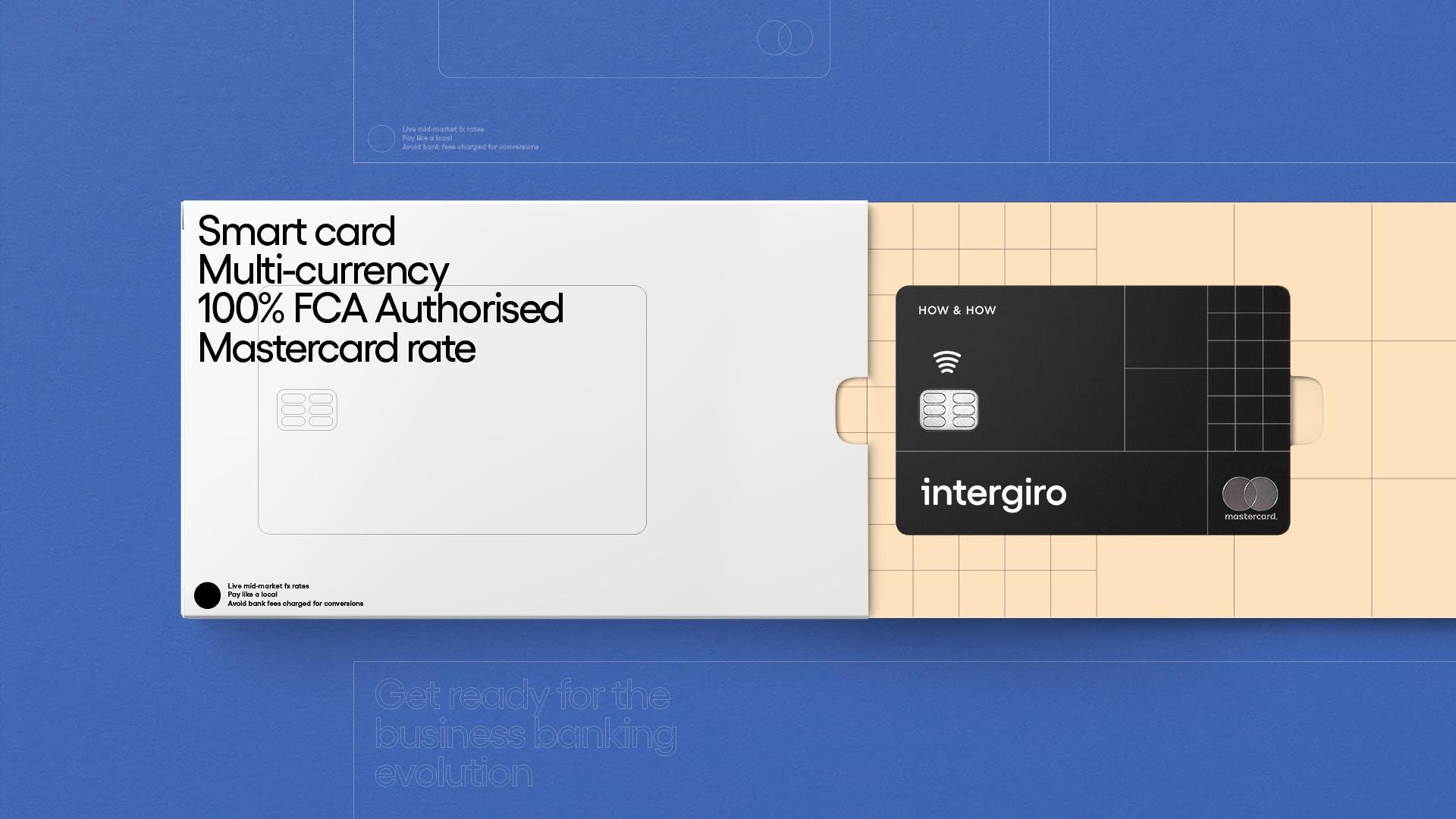 Intergiro Card Showcase