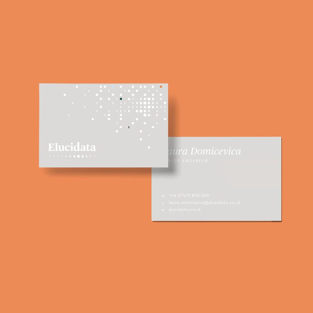 Elucidata business cards