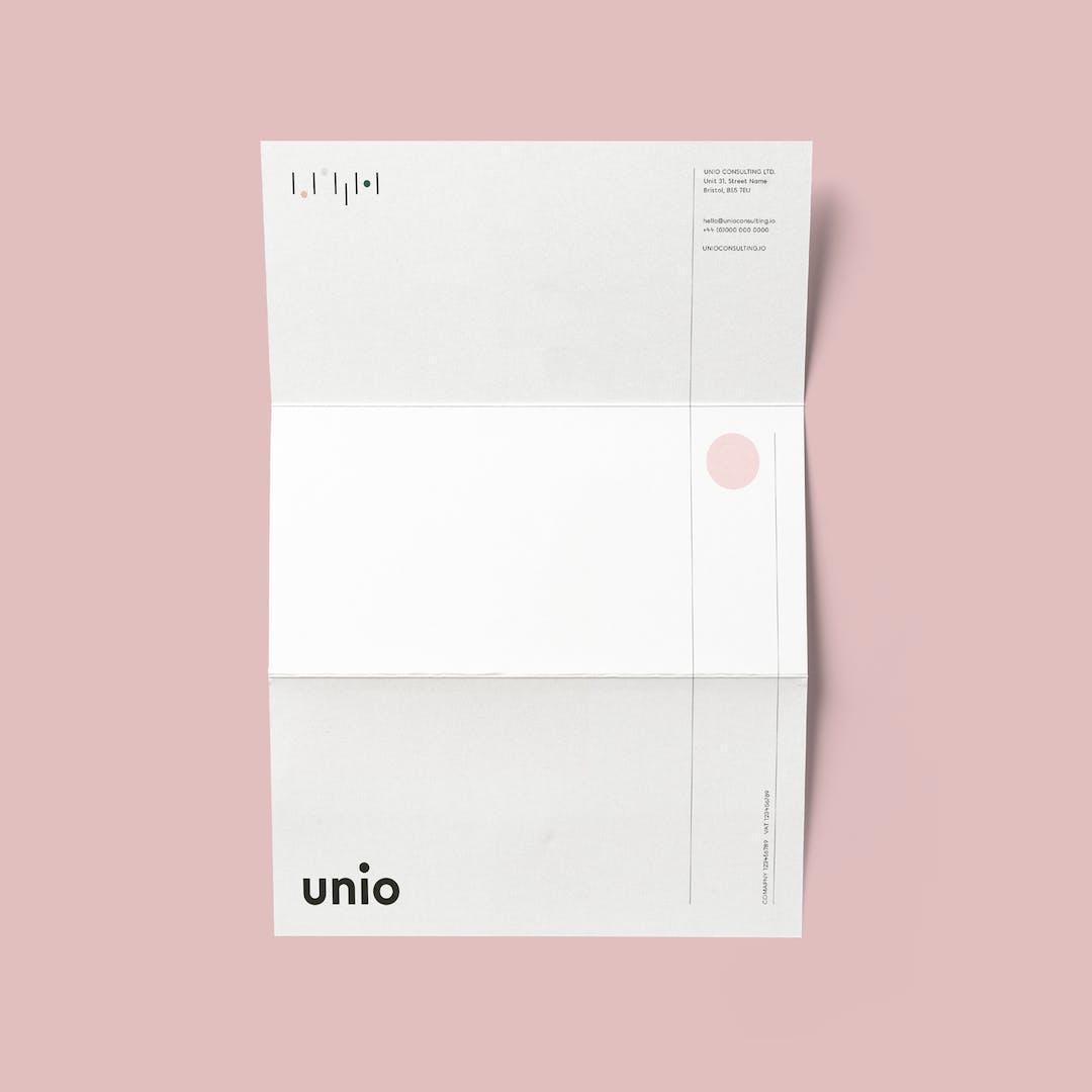 Unio letterhead