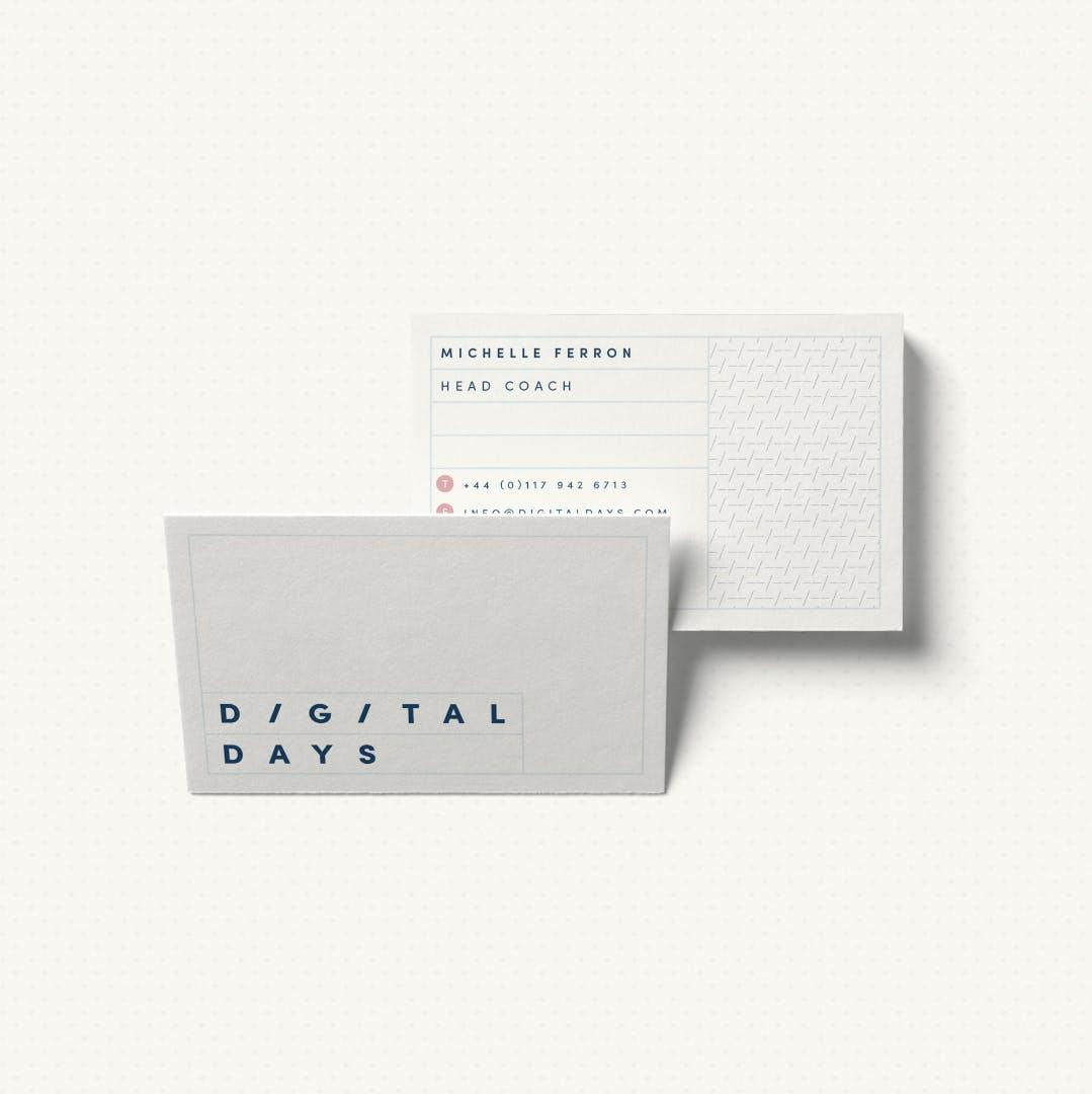 Digital Days Business Cards
