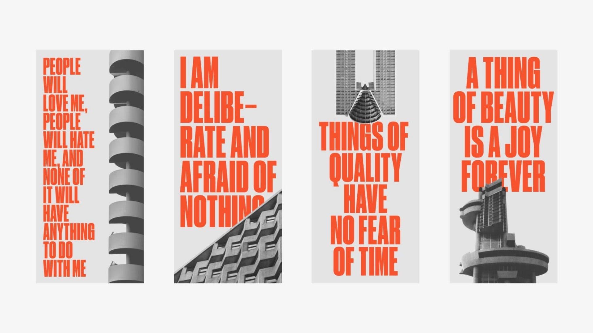 Brutalist Poster Experiments