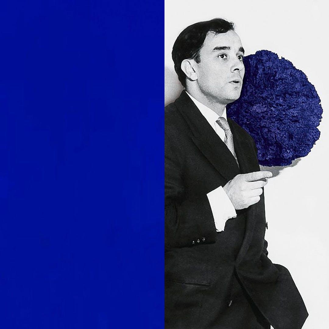 About a Colour: Yves Klein Blue