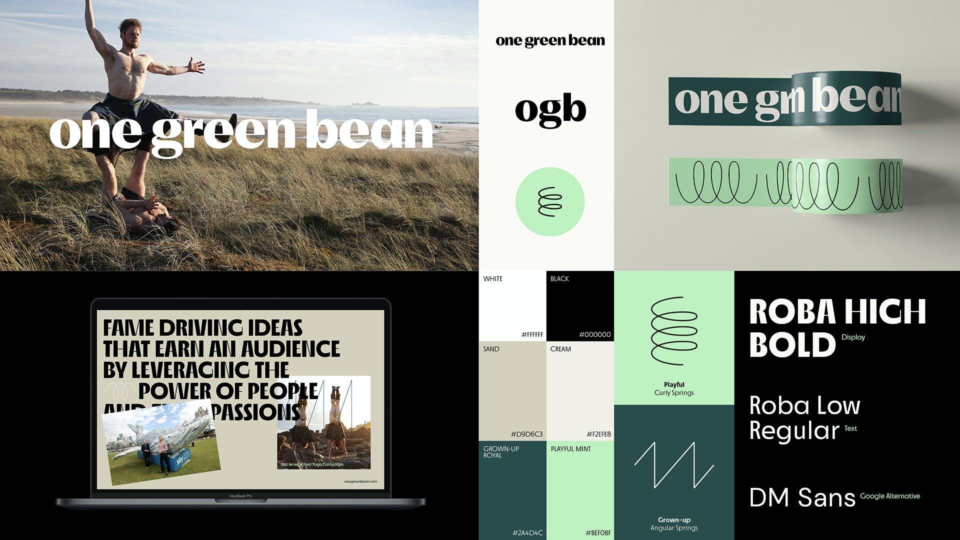One Green Bean Brandboard