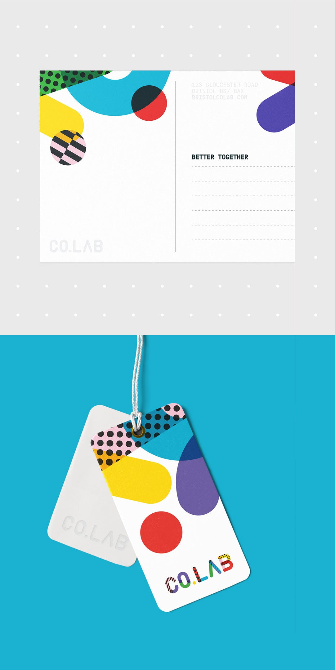 Co.Lab print collateral