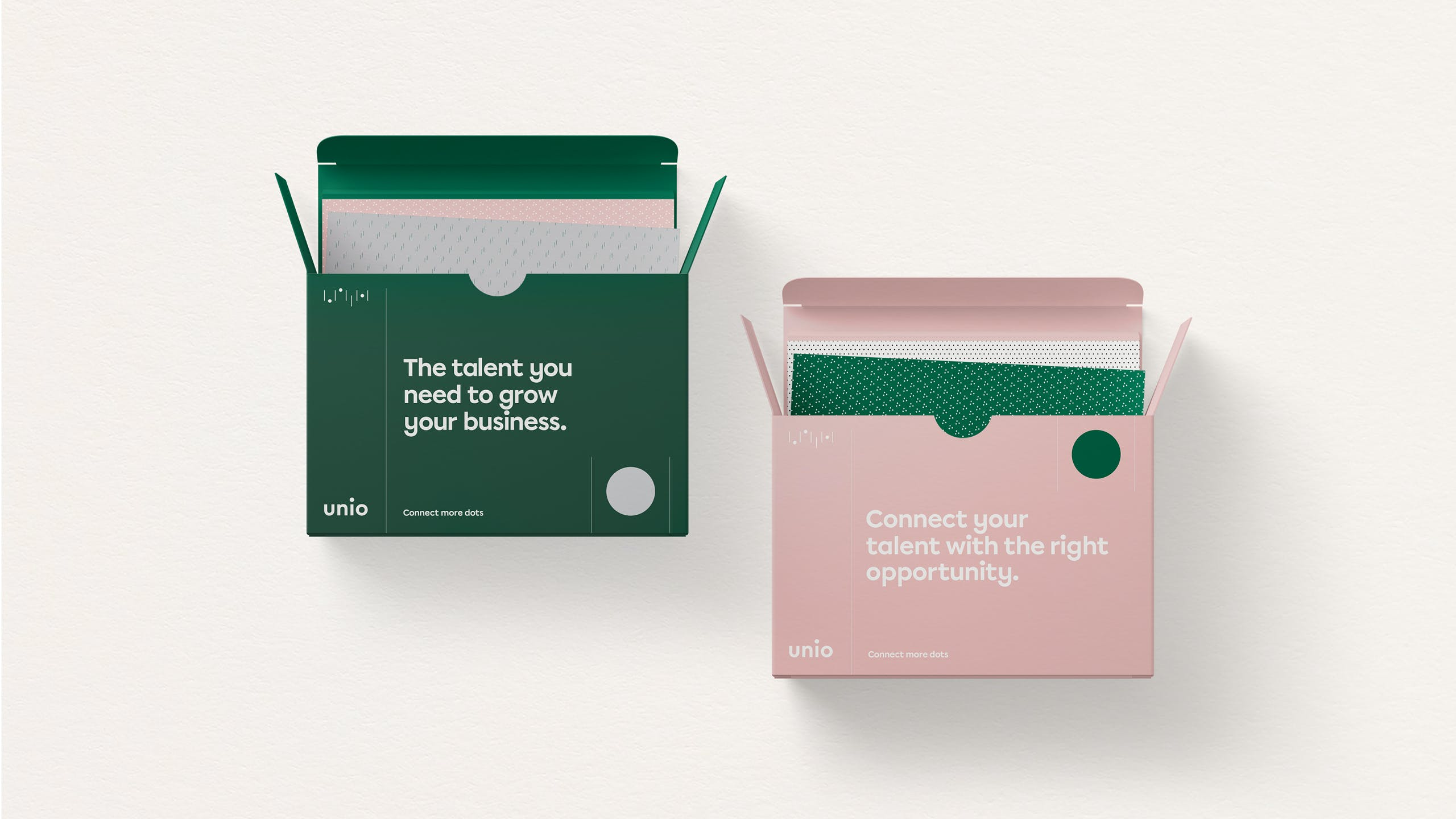 Unio stationery welcome pack