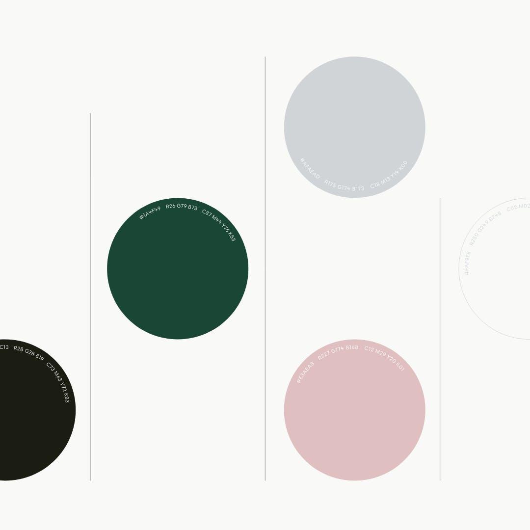 Unio colour palette