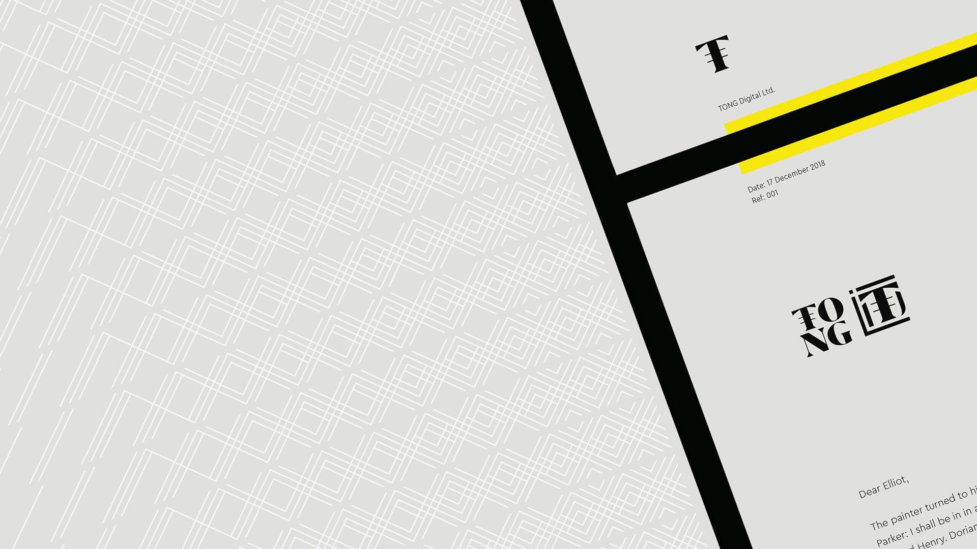 TONG letterhead