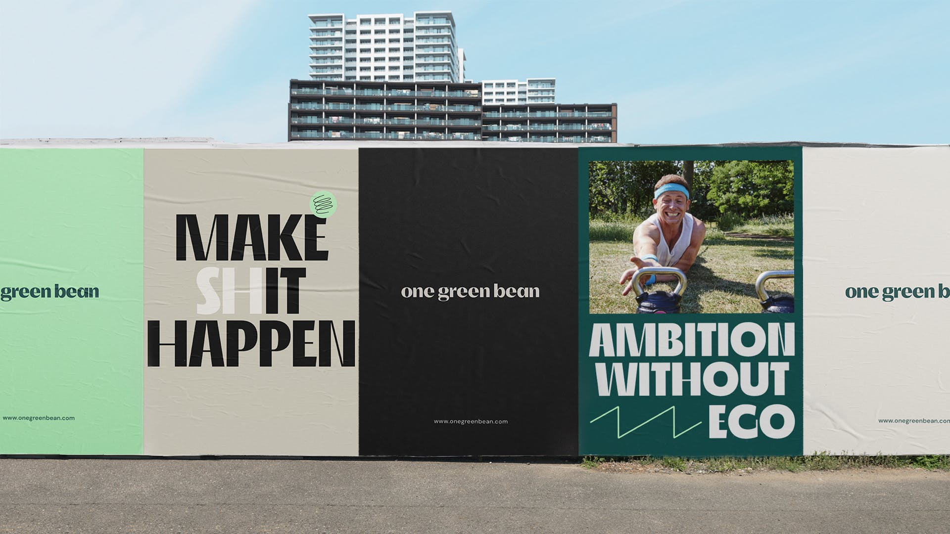 One Green Bean Billboard