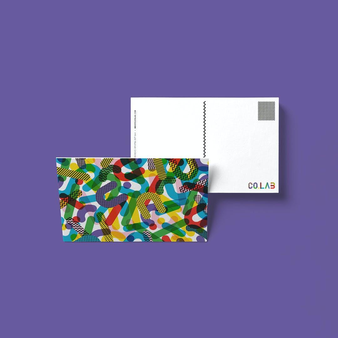 Co.lab postcards