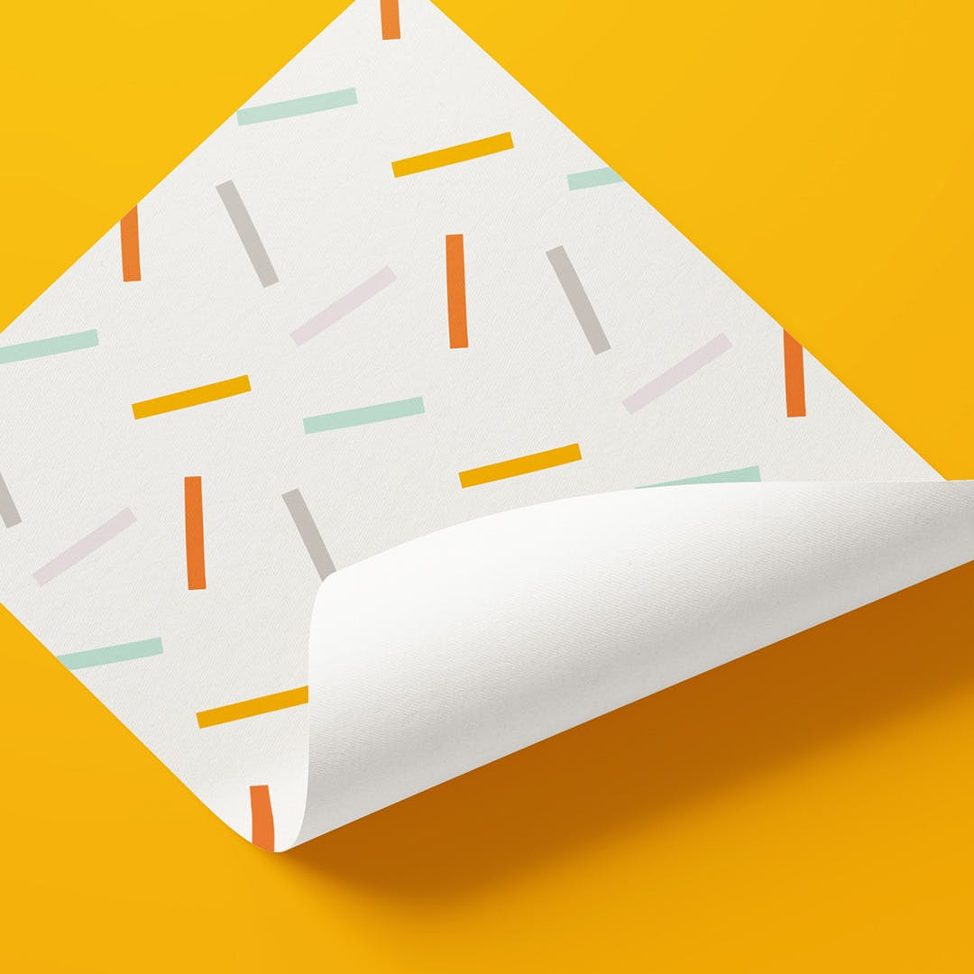 Listening Heads wrapping paper
