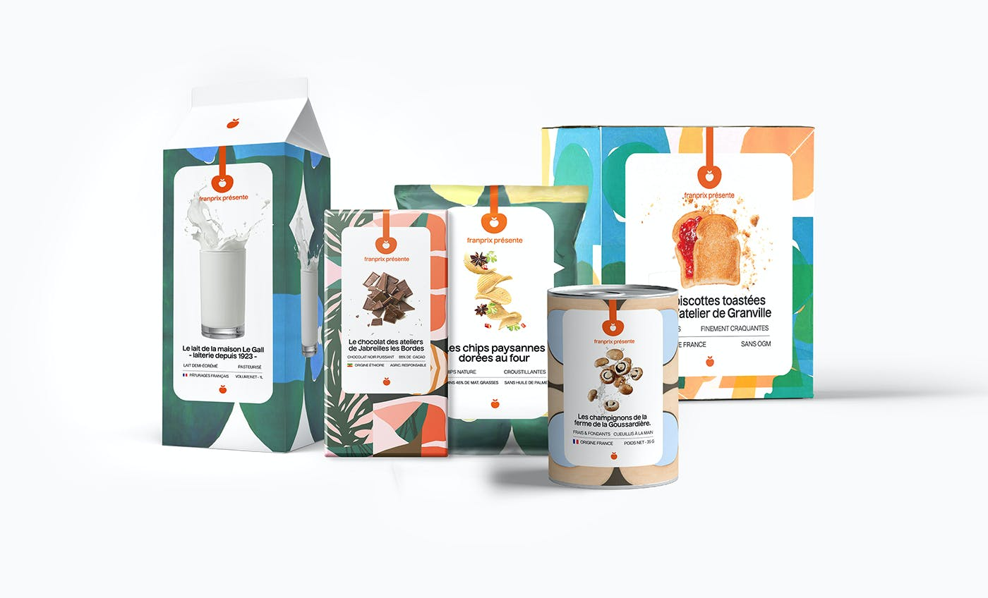 Franprix — Packaging Rebrand