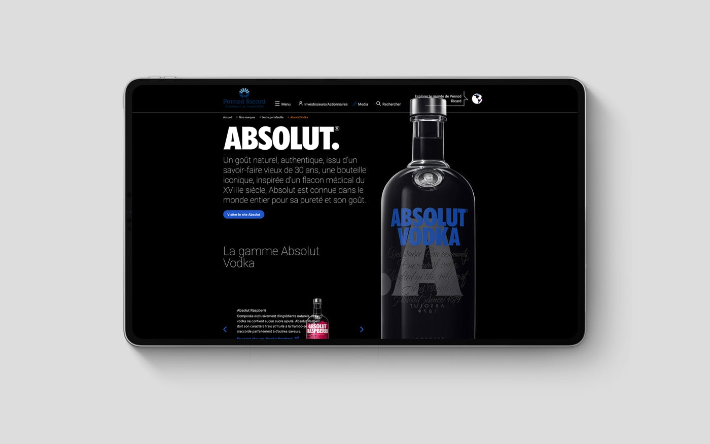 Pernod Ricard — Official Website