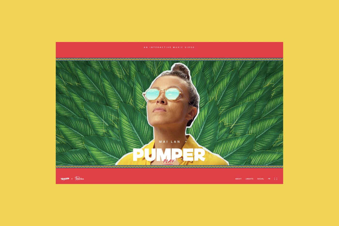 Mai Lan, Pumper — Interactive music video