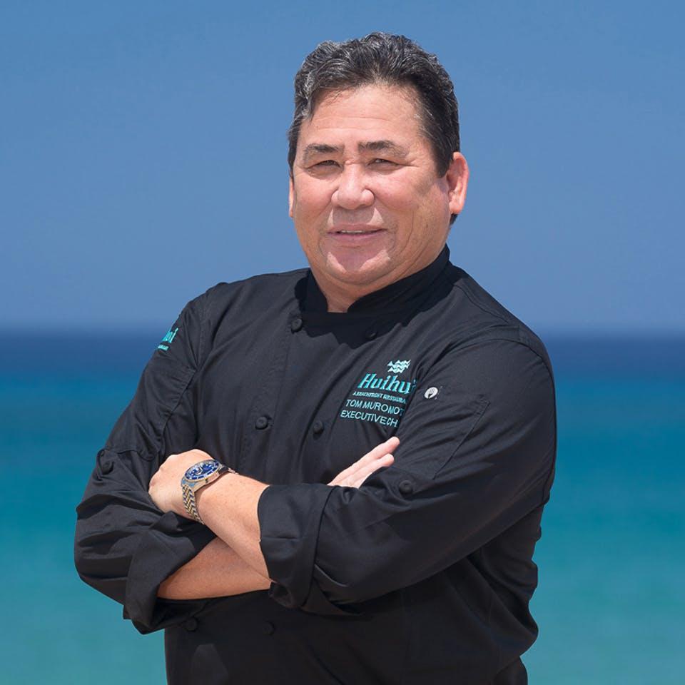 Chef Tom Muromoto of Huihui Restaurant