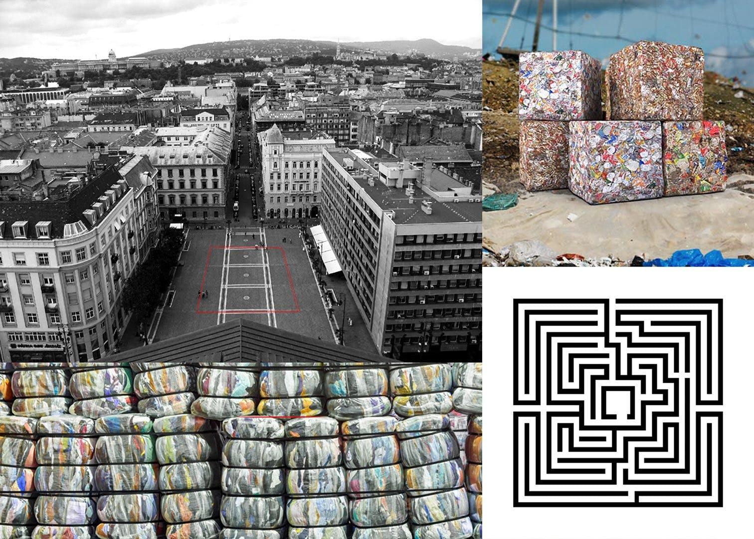 Plastic Waste Labyrinth – AMS 2018