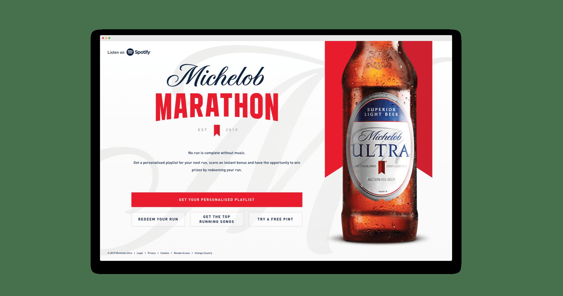 Michelob Marathon Hydric case study