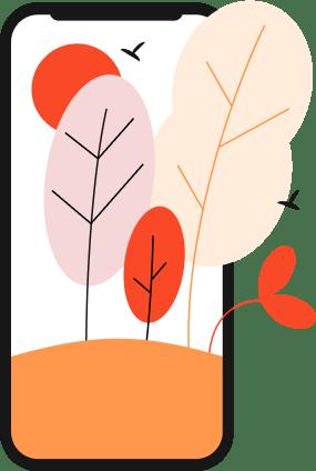 You love sustainability illustration