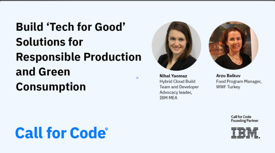 Build Tech for Good Solutions for Responsible Production and Green Consumption
