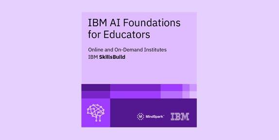 IBM AI Foundations for Educators - image