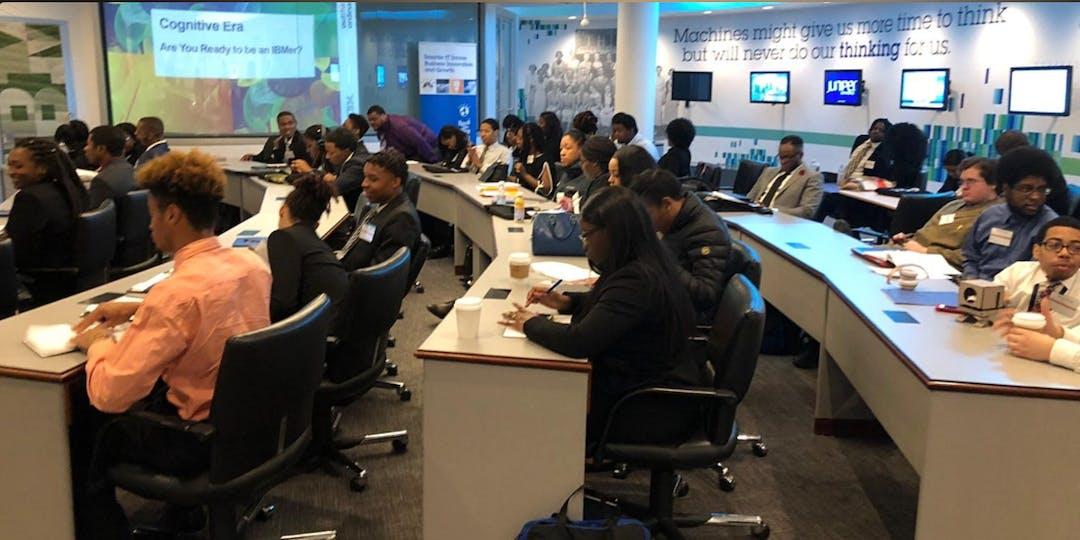 IBM Executive HBCU VS HBCU Student Wednesdays