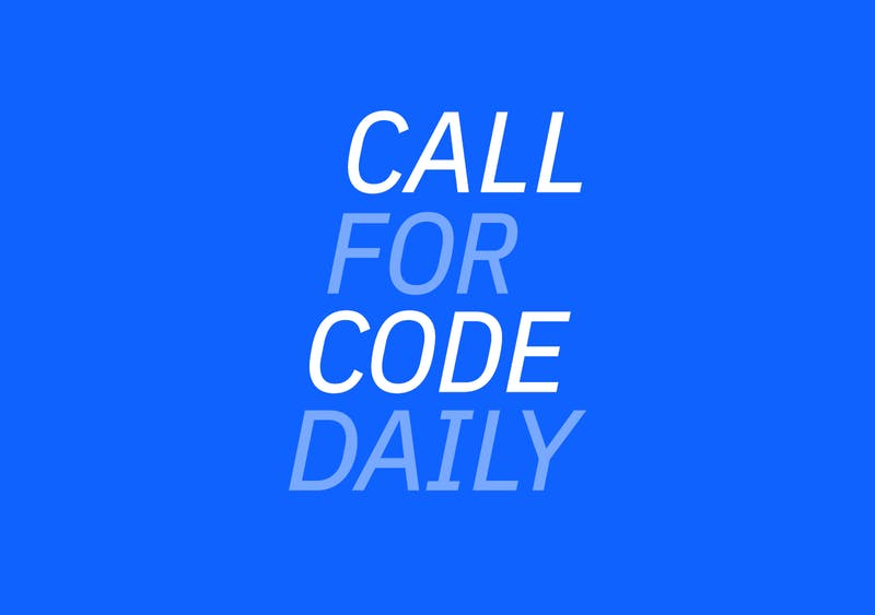 Call for Code Daily Logo