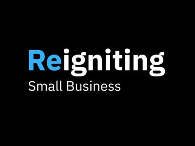 IBM Service Corps Reignite Logo