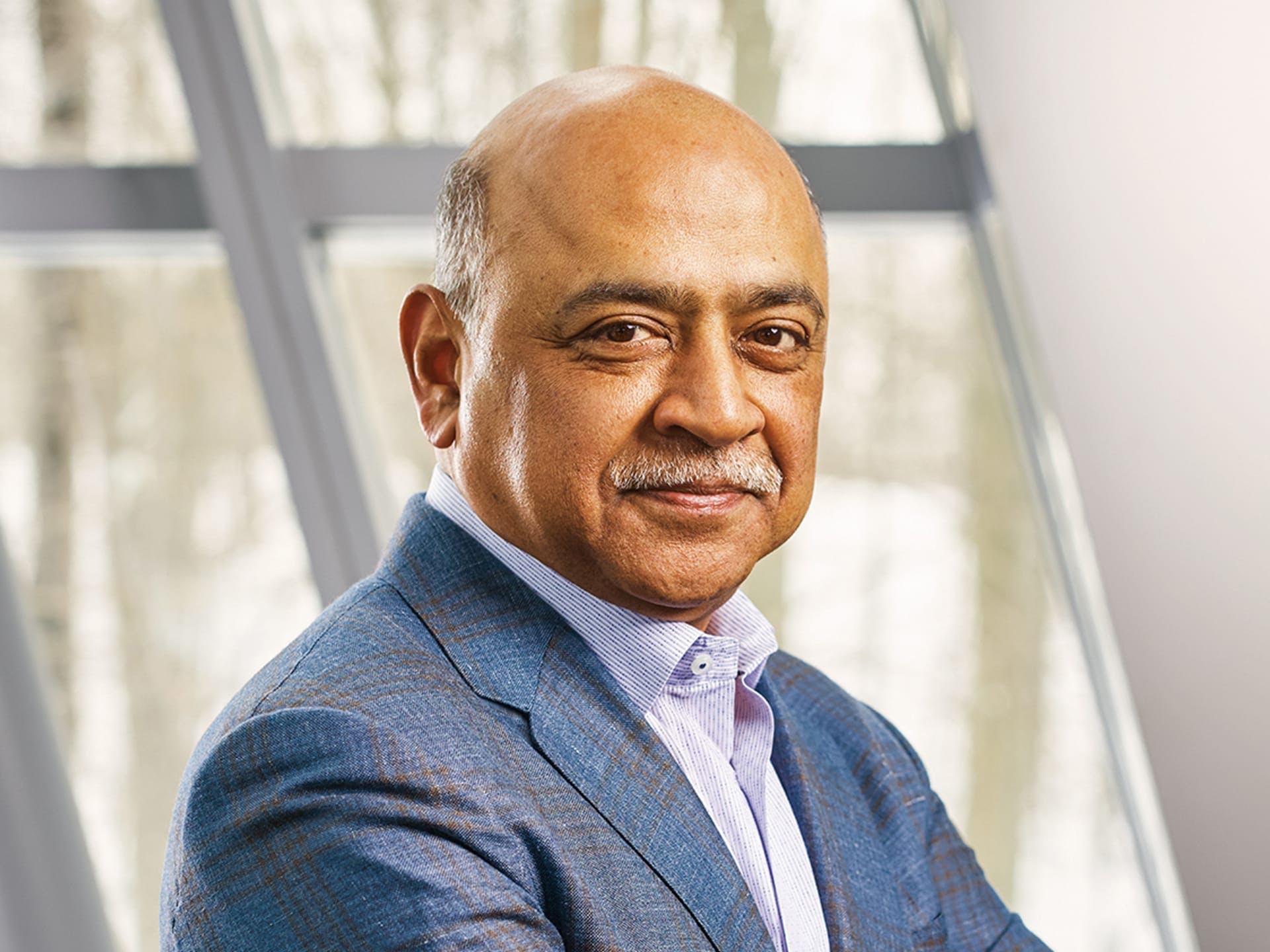 Headshot of Arvind Krishna