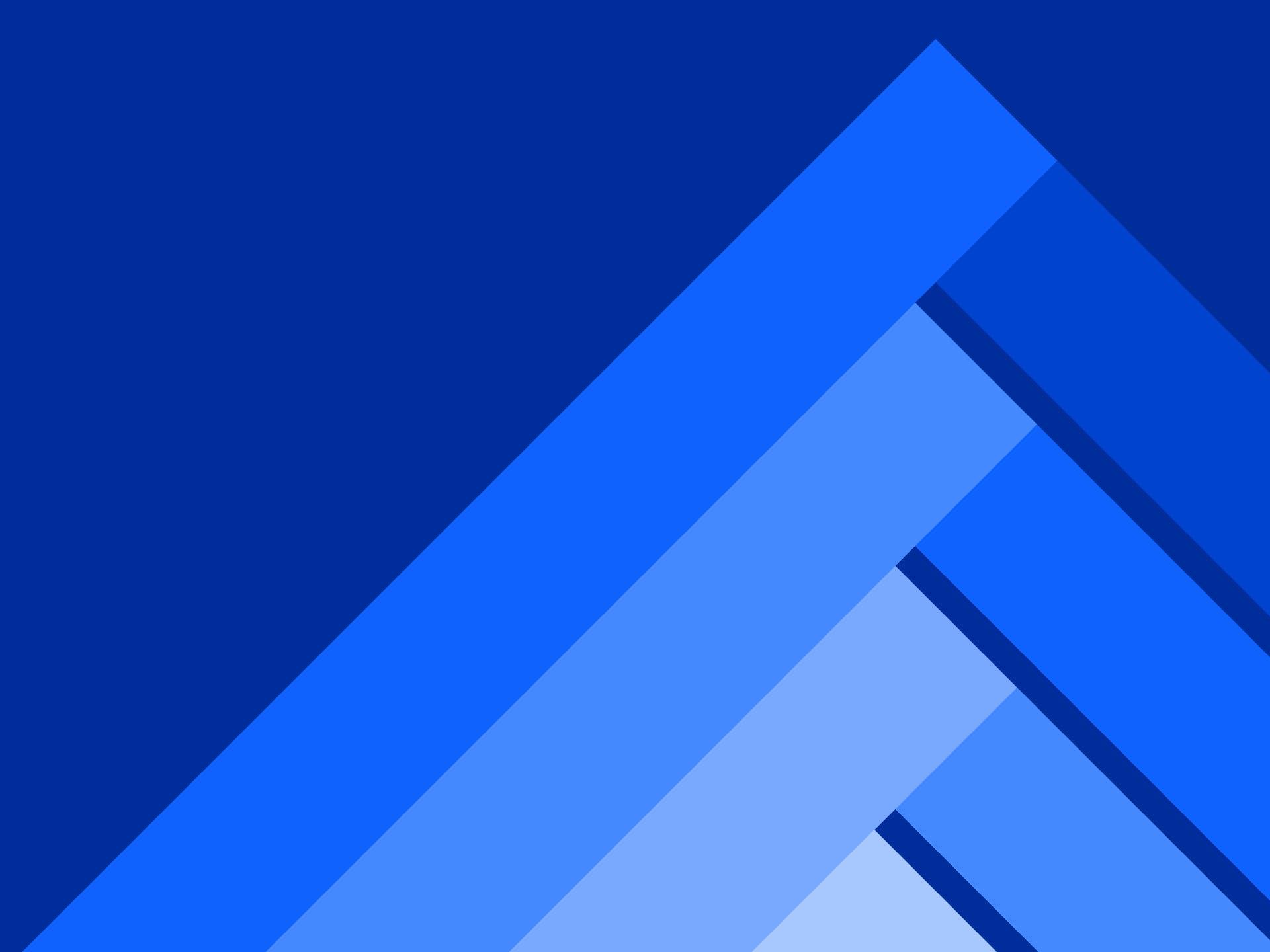 Blue layered peak