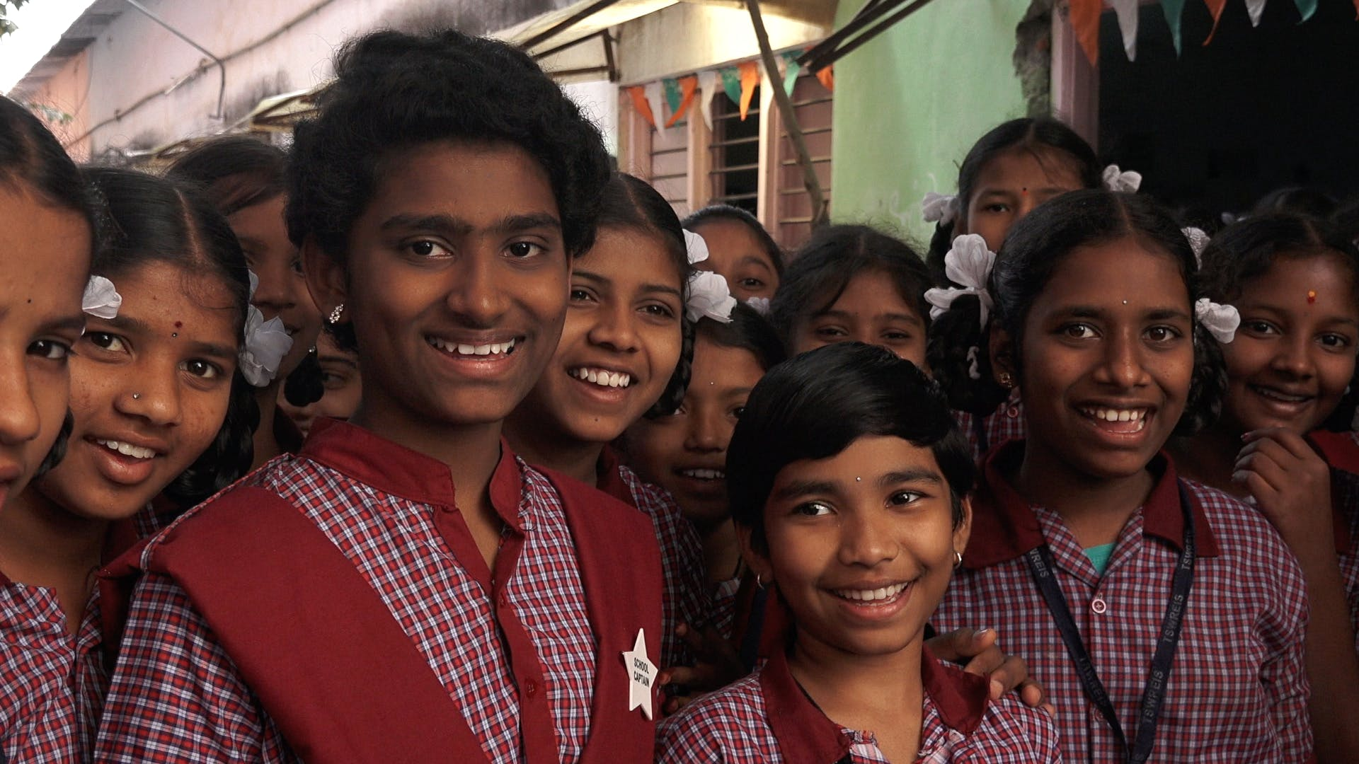 STEM students from the Freedom School in Hyderabad, Telangana