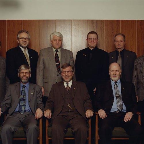 Stjórnarmenn KRR árið 2000