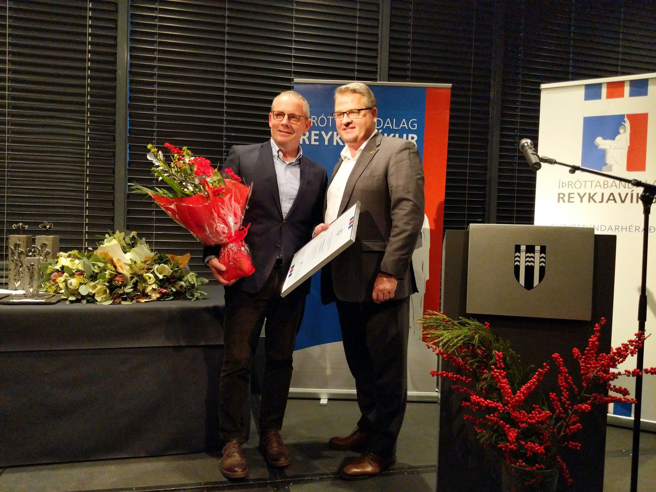 Ingvar Sverrisson og Lárus Blöndal