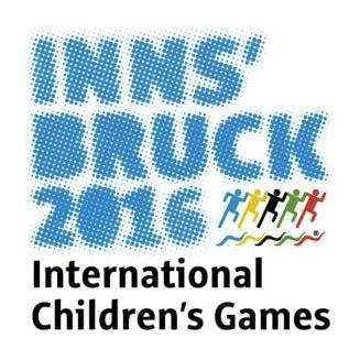 Innsbruck 2016 International Children´s Games merki.