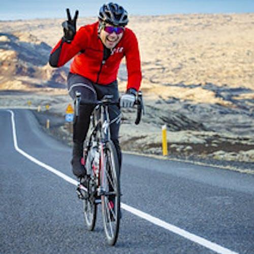 keppandi í Tour of Reykjavík